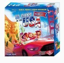 10DAYS IN THE USA 日本語版 ボードゲーム