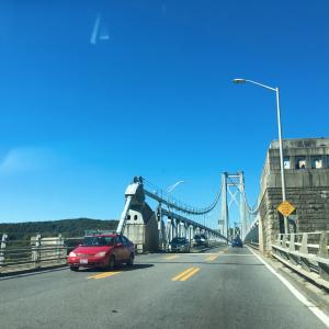 ハドソン川を渡ろう! Walk over the Hudson
