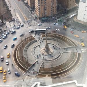 豪華な景色を楽しみながら素敵な朝食@マンダリンオリエンタルホテルニューヨーク