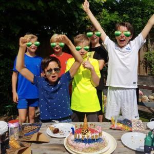 中学生活のスタート!12歳のBDパーティー