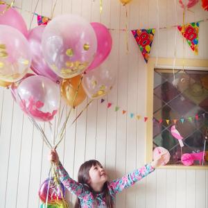 娘の8歳の誕生日パーティー