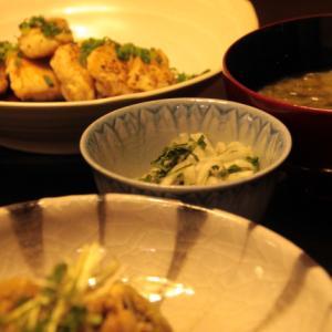 久々の我が家での夕食でした。 ❣️(^^)