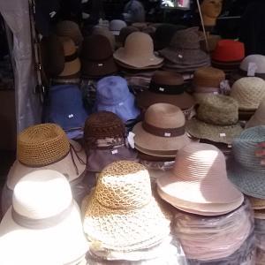 南大門で帽子購入♪
