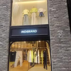 明洞 indi brandでシンプルTシャツ購入