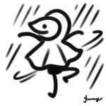 雨でも気持ちよく!!