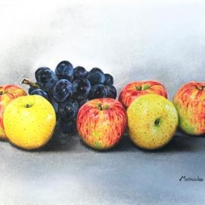 林檎と葡萄