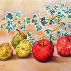 林檎とラフランス