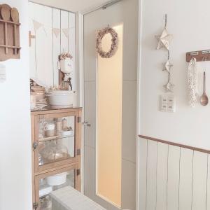 DIY*茶色い扉を白くペイントする〜トイレとキッチンの扉〜