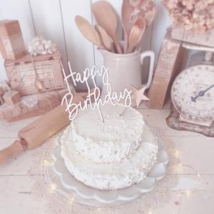 簡単!可愛いバースデーケーキ