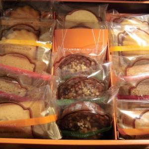 11月7日の当選2個♪「焼き菓子」「クオカード」