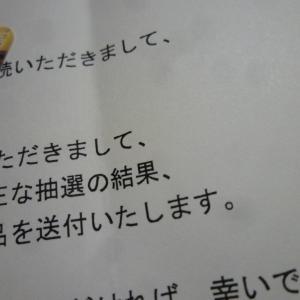 9月13日の当選2個♪「図書カード」「トランプ」