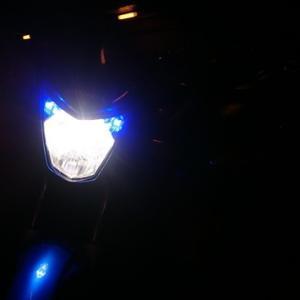 CBF125ヘッドライトLED化!(交換方法)