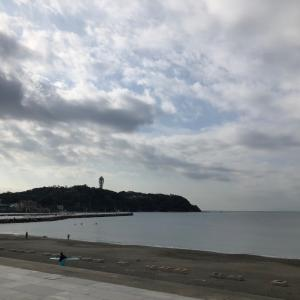 ocean swim in 江ノ島