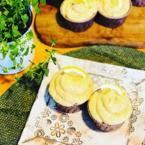 レモンのカップケーキ