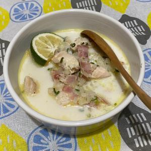 カリフラワースープ。