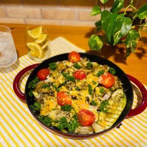 グリルパンひとつで作れる!簡単夏野菜メニュー。