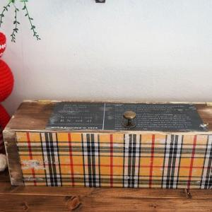 【簡単100均リメイク】セリアのキューブボックスで縦横使える蓋つき収納箱