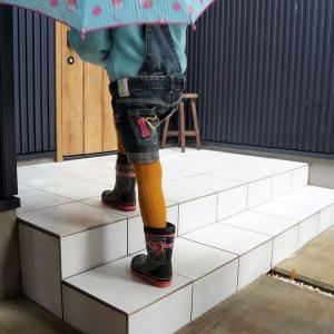 雨で滑りやすい玄関ポーチやコンクリートに抜群なスプレー・アンチスリップ