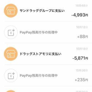 ゆる節約はPayPayで。外食&コンビニ費、先月との比較!