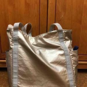 レジ袋有料化で、バッグからのエコバッグ出し入れをやめる。