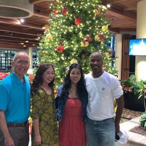 ハワイにいる友人達との再会