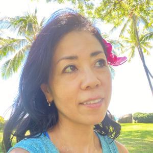 ハワイでも空き時間にコーチング開始!