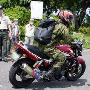 松本駐屯地 自衛官候補生の25km行軍激励してまいりました! 後編