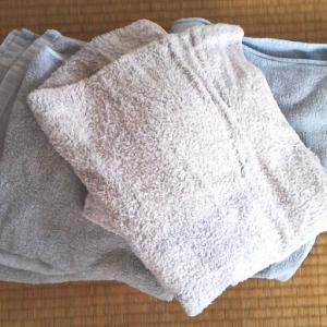 変色したバスタオル5枚