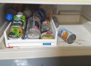 汚い冷蔵庫