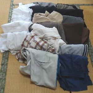 248枚の服を捨てた