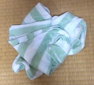 抜け毛と枕カバー