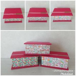 リバティ*ブック型ボックス/chimachimabox