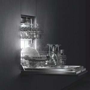GAGGENAU ガゲナウの食洗機のあるキッチン