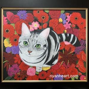 高円寺「猫の額」で2人展開催中です