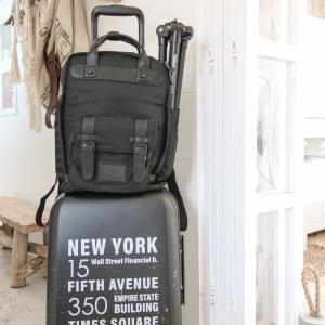 仕事の荷物、パッキング