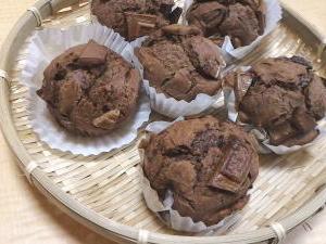 豆腐チョコレートマフィン