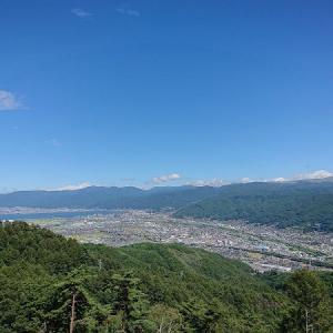 杖突峠と千代田湖