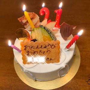 お姉ちゃん21歳の誕生日