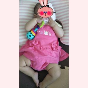 【生後6ヶ月】服のサイズ