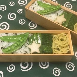 『緑』がテーマカラーのお弁当