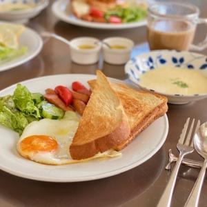 モーニング・朝食の時間が・・・