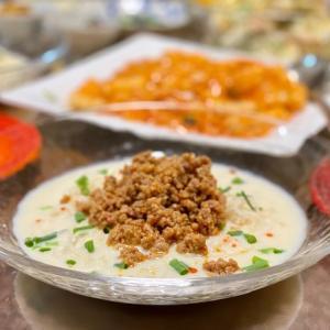 ピリ辛豆乳冷やし坦々の中華麺Ver.