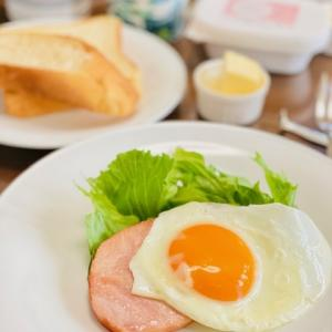 休日の朝食☆このドレッシングは!?