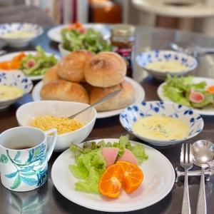 休日の朝食☆おじいちゃんの椎茸~料理PART⑮