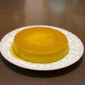 かぼちゃのプリン☆ハロウィンのパウンドケーキ