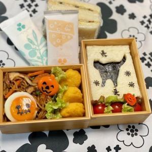 ハロウィンのお弁当☆おじいちゃんの椎茸~料理PART⑰