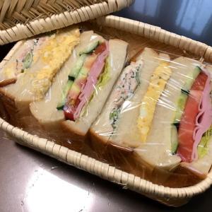 サンドウィッチ弁当☆日常に感謝