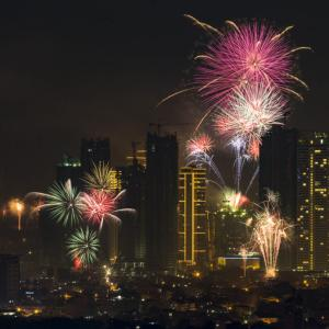 Happy New Year 2020 (マニラ)