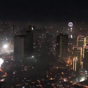 Happy New Year 2021 (マニラ)
