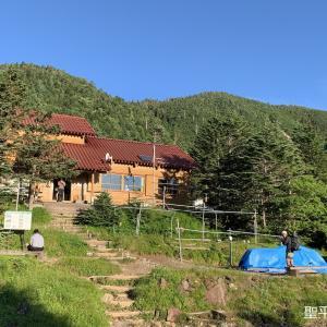 南アルプス南部縦走その5(聖平小屋→上河内岳→茶臼小屋)